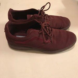 Vans men's ISO 1.5 mono red sneakers